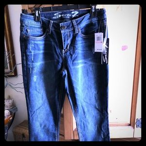 Seven7 jeans- slim bootcut NWT Size 10